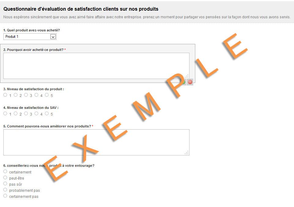 Sondage de satisfaction clientèle   Formpro